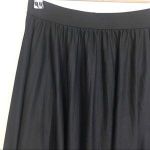 BCBGMaxAzria Skirts - BCBGMAXAZRIA Tisa Black Sheer Maxi Skirt